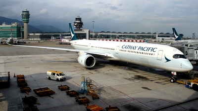 B-LXF - Airbus A350-1041 - Cathay Pacific Airways