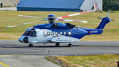 A picture of LNONV - Sikorsky S92A - Bristow Helicopters - © Rrimestad
