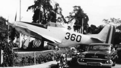 360 - North American P-51D Mustang - Guatemala - Air Force