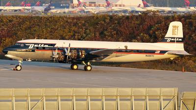 N4887C - Douglas DC-7B - Delta Air Lines