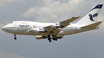 EP-IAC - Boeing 747SP-86 - Iran Air