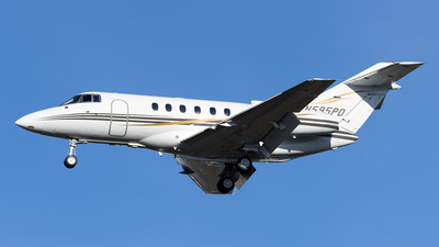 N595PD - Raytheon Hawker 800XP - Private