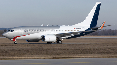 PH-GOV - Boeing 737-700(BBJ) - Netherlands - Government