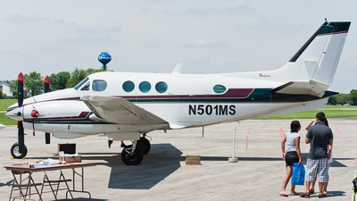 N501MS - Beechcraft C90 King Air - Private