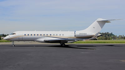 N433DC - Bombardier BD-700-1A10 Global Express - Private