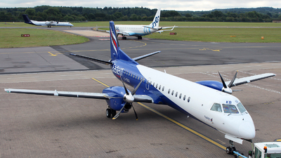 G-CDKB - Saab 2000 - Eastern Airways