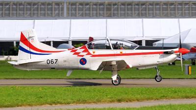 067 - Pilatus PC-9M - Croatia - Air Force