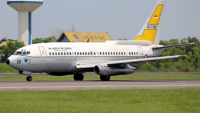 AI-7301 - Boeing 737-2X9(Adv) Surveiller - Indonesia - Air Force