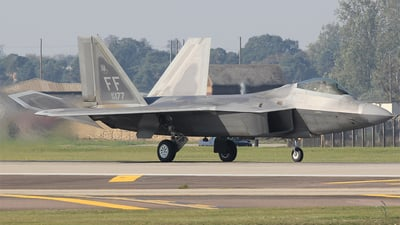09-4177 - Lockheed Martin F-22A Raptor - United States - US Air Force (USAF)