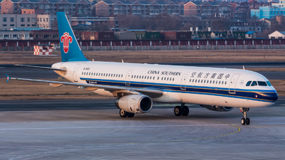 B-1830 - Airbus A321-231 - China Southern Airlines