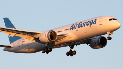 A picture of ECNFM - Boeing 7879 Dreamliner - Air Europa - © Renato Oliveira