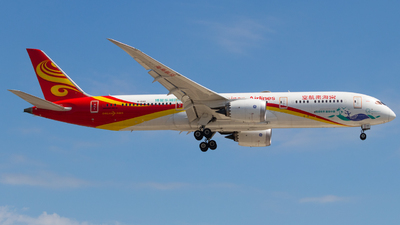 A picture of B1342 - Boeing 7879 Dreamliner - Hainan Airlines - © Shon F