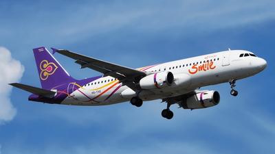 HS-TXE - Airbus A320-232 - Thai Smile