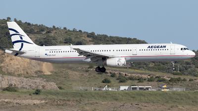 SX-DVO - Airbus A321-232 - Aegean Airlines