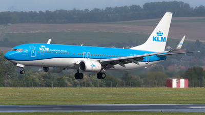 A picture of PHBXI - Boeing 7378K2 - KLM - © Michael Musil