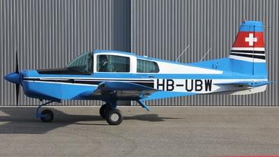 HB-UBW - Grumman American AA-5 Traveler - Private
