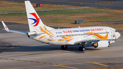 A picture of B5243 - Boeing 73779P - China Eastern Airlines - © YueYiFeiMa-YYFM
