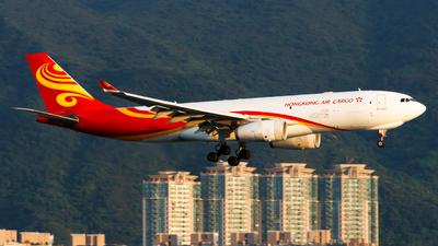 A picture of BLNY - Airbus A330243F - Hong Kong Air Cargo - © Thomas Tse
