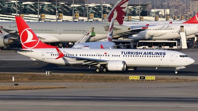 TC-LYA - Boeing 737-9 MAX - Turkish Airlines