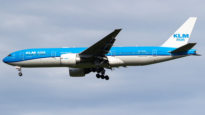 A picture of PHBQK - Boeing 777206(ER) - KLM - © Pablo Merel - EtopsPTY