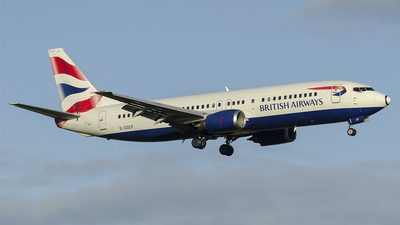 G-DOCF - Boeing 737-436 - British Airways