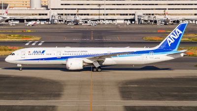 A picture of JA871A - Boeing 7879 Dreamliner - All Nippon Airways - © Haneda Spotter