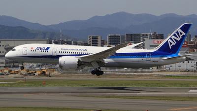 JA821A - Boeing 787-8 Dreamliner - All Nippon Airways (ANA)