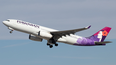 A picture of N373HA - Airbus A330243 - Hawaiian Airlines - © Jacob Sharp - MkeAviation