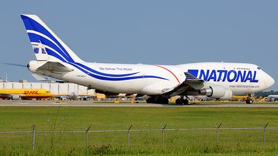 N729CA - Boeing 747-412(BCF) - National Airlines
