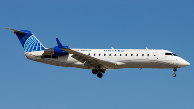 N487CA - Bombardier CRJ-200ER - United Express (SkyWest Airlines)