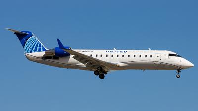 A picture of N487CA - Mitsubishi CRJ200LR - United Airlines - © Sean Brink