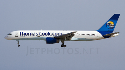 G-FCLK - Boeing 757-2Y0 - Thomas Cook Airlines
