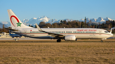 A picture of CNRGG - Boeing 73786N - Royal Air Maroc - © Patrick ANDRIE