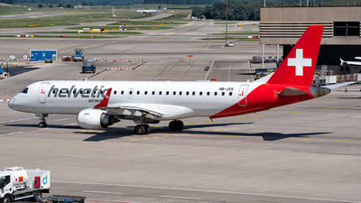 HB-JVS - Embraer 190-100LR - Helvetic Airways
