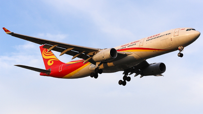 A picture of B5950 - Airbus A330343 - Hainan Airlines - © SimonSun
