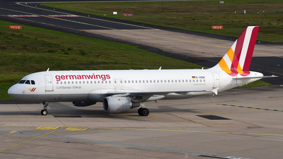 D-AIQN - Airbus A320-211 - Germanwings