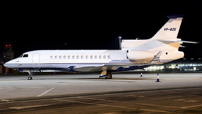 VP-BZE - Dassault Falcon 7X - Private