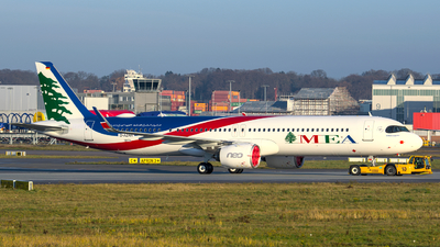 D-AZAH - Airbus A321-271NX - Middle East Airlines (MEA)
