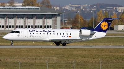 D-ACLW - Bombardier CRJ-200LR - Lufthansa Regional (CityLine)