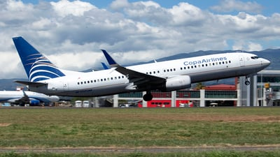HP-1727CMP - Boeing 737-8V3 - Copa Airlines