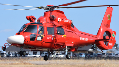 JA04FD - Eurocopter AS 365N3 Dauphin - Japan - Miyagi Prefecture