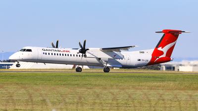A picture of VHLQB - De Havilland Canada Dash 8400 - Qantas - © Nicholas Kimura