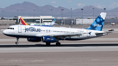 A picture of N656JB - Airbus A320232 - JetBlue Airways - © Yixin Chen