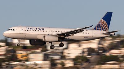 N456UA - Airbus A320-232 - United Airlines