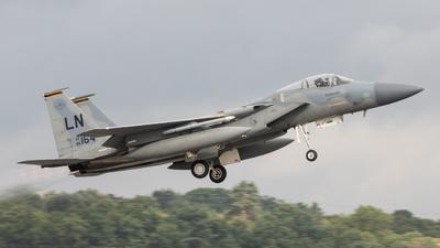 86-0164 - McDonnell Douglas F-15C Eagle - United States - US Air Force (USAF)