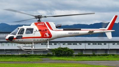JA6512 - Eurocopter AS 350B3 Ecureuil - Aero Asahi