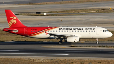B-6740 - Airbus A320-232 - Shenzhen Airlines