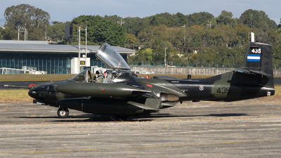435 - Cessna A-37 Dragonfly - El Salvador - Air Force