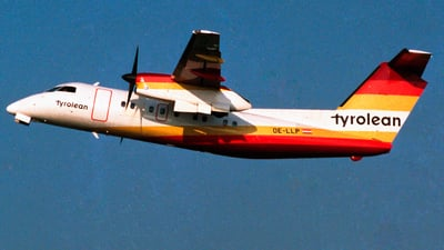 OE-LLP - Bombardier Dash 8-103 - Tyrolean Airways