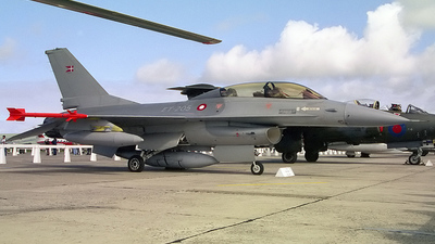 ET-205 - General Dynamics F-16B Fighting Falcon - Denmark - Air Force